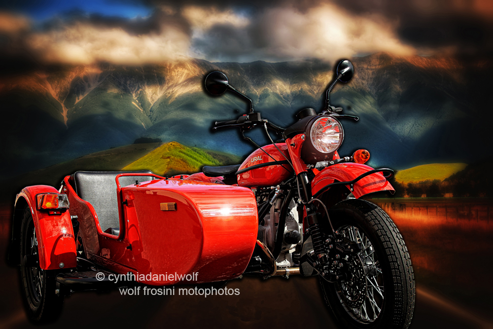 Classic Bikes - Motorcycle Prints on Metal - Cynthia Daniel